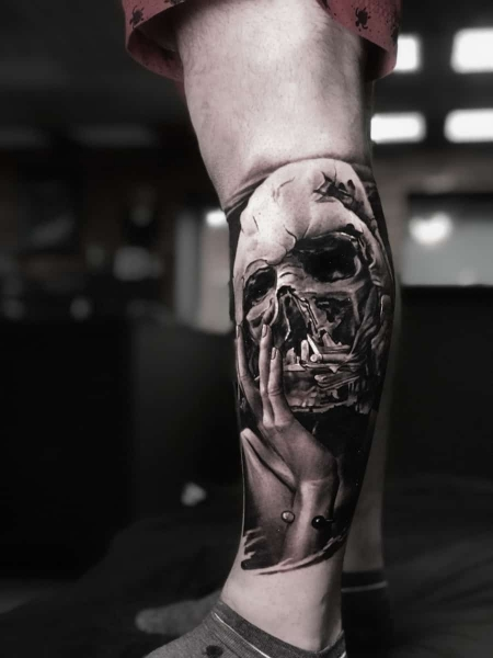 Star Wars darth vader tattoo Artjom