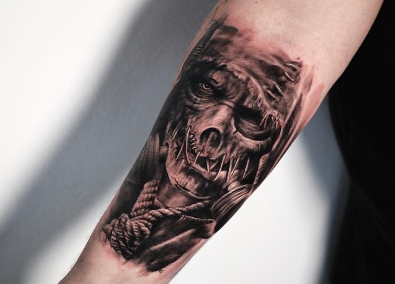 Scarecrow-Batman-arkham-knight-Tattoo