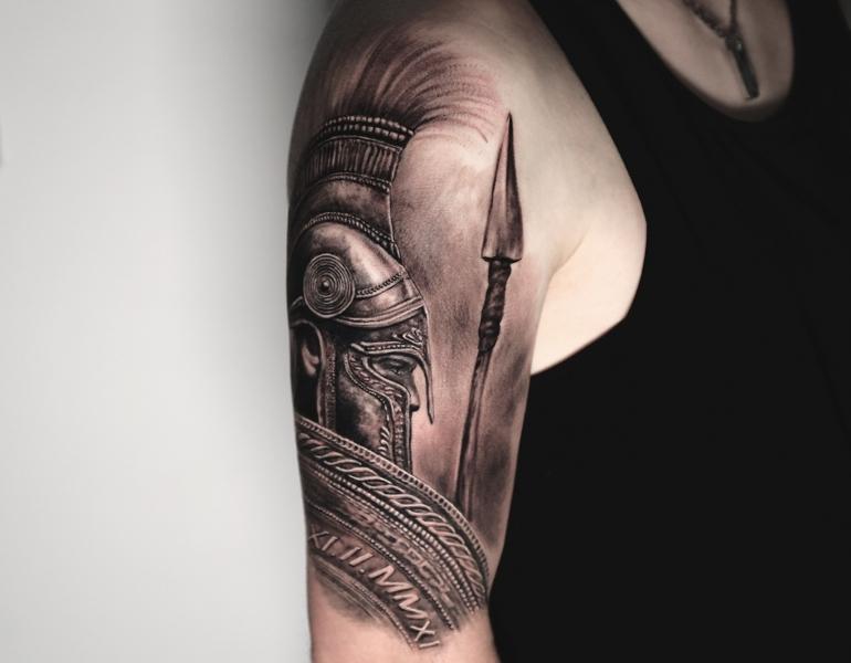 Sparta-spartan-spartaner-spartiat-krieger-warrior-tattoo1