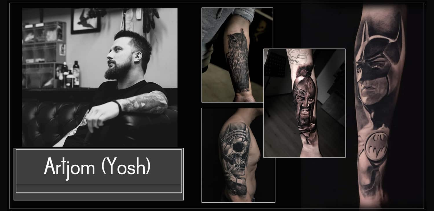 Artjom Joshi Tattoo Artist 2Brothers ink Dinkelsbühl Black and Grey Foto Realistisch
