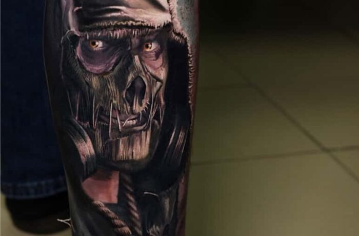 NIKOLAY 2BROTHERS INK GUEST ARTIST TATTOO – SCARECROW