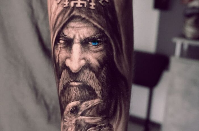 Odin Walhall Tattoo