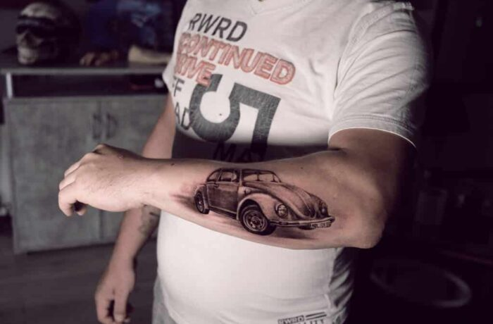 VW Käfer Tattoo