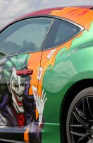 Toyota GT86 Comic Custompaint Airbrush Lackierung